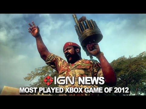 IGN News - Most Played Games on XBOX in 2012