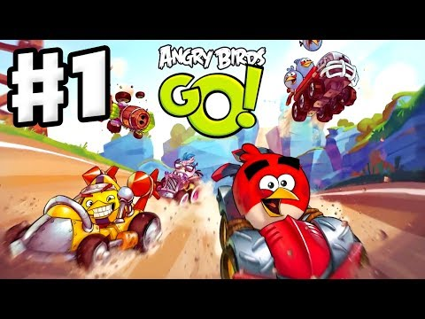 Angry Birds Go  All Episodes  Boss Fights Bomb Stella