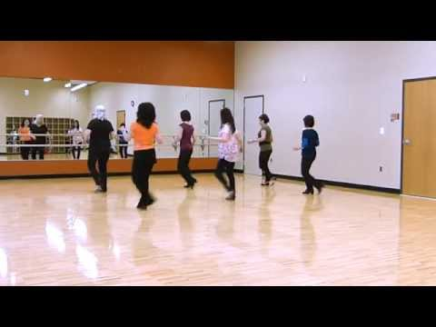 Cha Cha Burn - Line Dance (Demo)