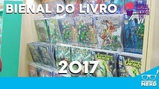 BIENAL DO LIVRO 2017- QUADRINHOS, NERD QUIZ E MAURICIO DE SOUSA!