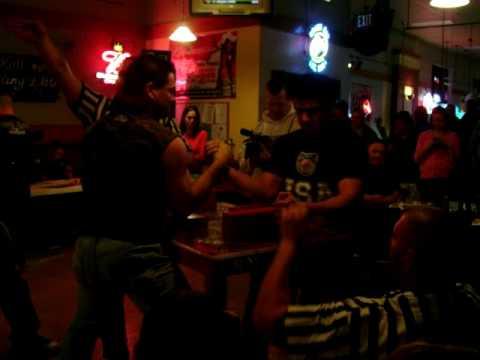 Justin Mynatt Arm Wrestling
