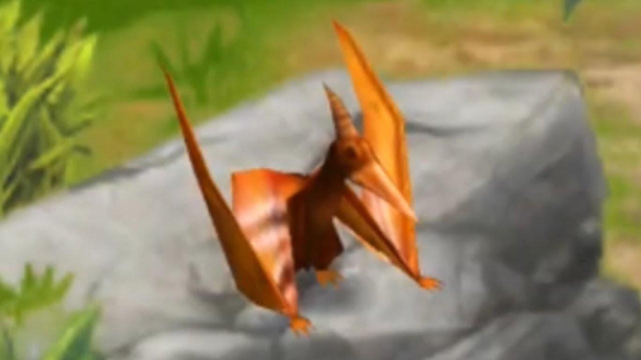 Jurassic Park Builder - Pteranodon [Jurassic Park] - YouTube