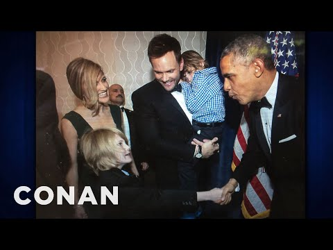 Joel Mchale's Son Threw Up At The President's Party video