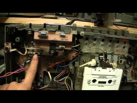 Inside the Sanyo M9935K Boombox Joey Binky Follow up Ferrite antenna 2 Versions