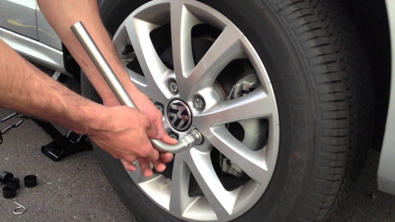 How To Volkswagen Tire Change Youtube