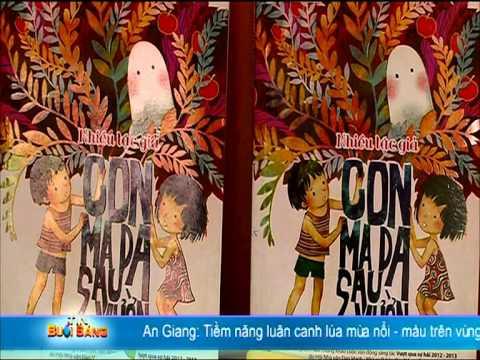 HTV9 - Giao lưu với ba tác giả đoạt giải của Dự án Hỗ trợ Văn học Thiếu nhi Việt Nam - Đan Mạch