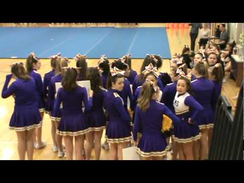 Ellington Middle School Cheerleading 2012 - cheer