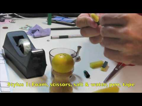 DIY - How to Make 4 iPhone iPad Stylus (1)