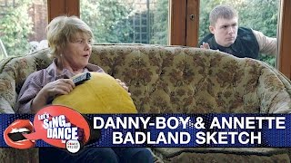 Danny-Boy Hatchard and Annette Badland sketch - Let's Sing and Dance for Comic Relief 2017 - BBC One