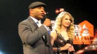 Grammy Nominations - LL Cool J and Taylor Swift