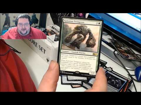 Unboxing Magic 2015 Core Set Boosters!