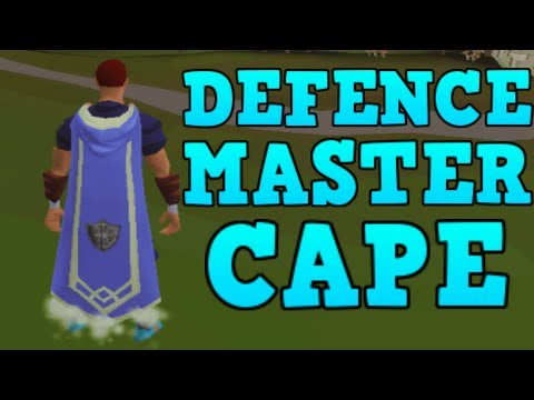 Master Skillcapes Released – 120 Defence! [Runescape 2014]
