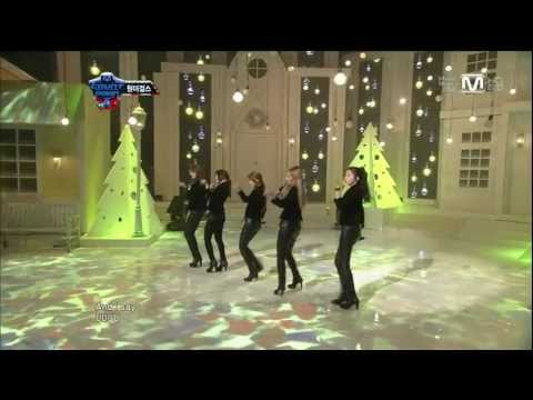 Wonder Girls - 111222 Mnet M!Count Down - Girls Girls [HD 720p] Music Videos
