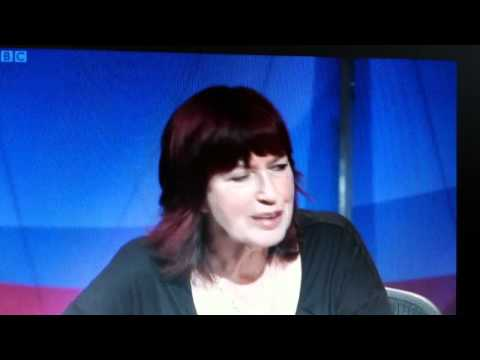 Janet Street-Porter showing up Peter Hain on Question Time
