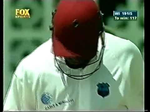 Brian Lara 153* vs Australia 1999 Barbados