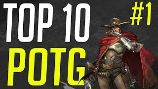 ⚡️ Overwatch | Top 10 Plays Of The Game #1 (Epic POTG)