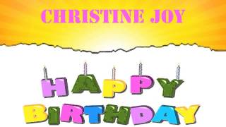 Christine Joy   Wishes & Mensajes - Happy Birthday