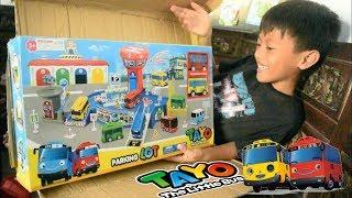 TAYO PARKING LOT 🚌 Mainan Anak Tayo The Little Bus