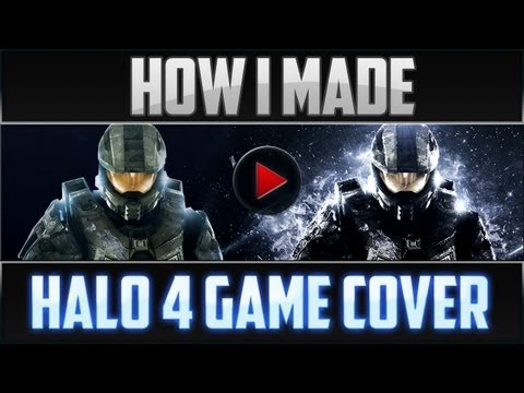 How I Made The Speed Art of Halo 4