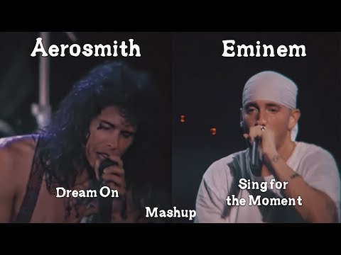 Eminem X Aerosmith - Sing for the Moment/Dream On Mashup (HQ Remake)