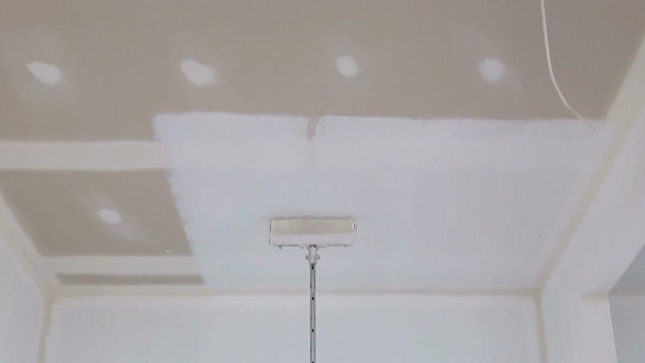 How To Paint A Ceiling How To Paint A Ceiling Using A