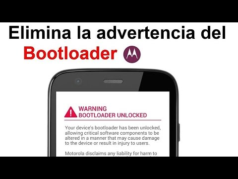 Como eliminar advertencia de bootloader. Moto g 2nd 2014 . moto x2. moto e. moto g. & moto x