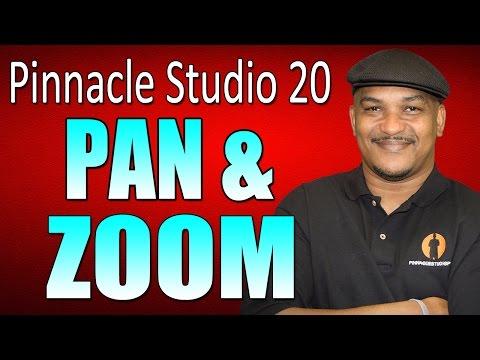 Pinnacle Studio 20 Ultimate   Pan and Zoom Tutorial