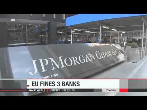FSIFX Forex News Desk: EU fines 3 banks over LIBOR scandal