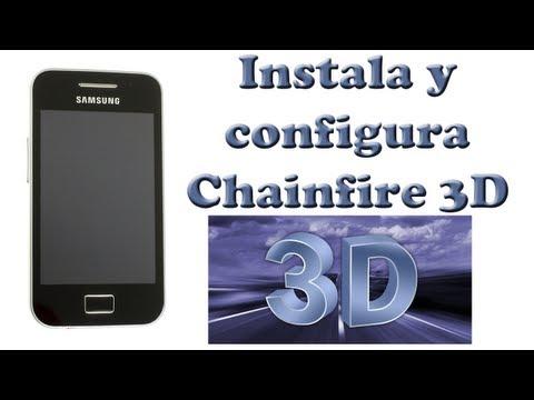 Instala Chainfire 3D Galaxy Ace