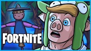 We Found a DEAD BODY in the WAILING WOODS in Fortnite: Battle Royale! (Fortnite Funny Moments)