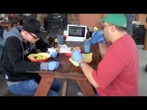 Chunky's Four Horsemen Burger Challenge 3/20/10