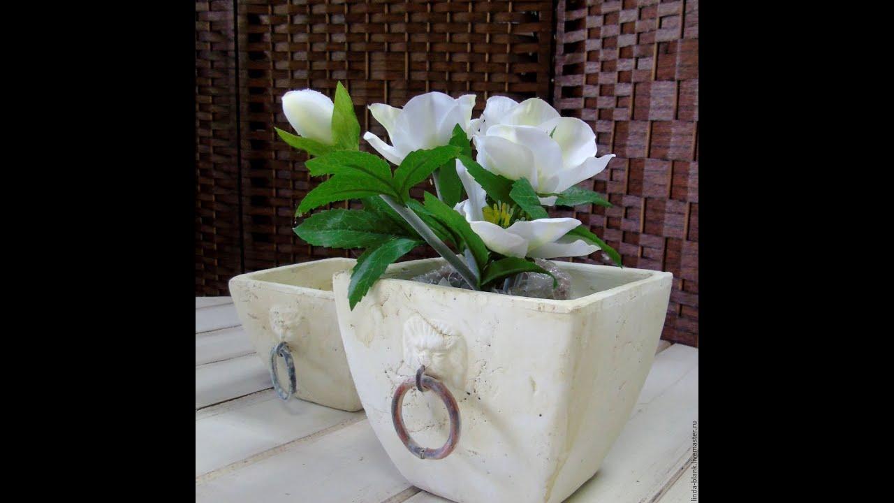 Как сделать вазоны для цветов своими руками 3