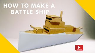 how to make a battleship
