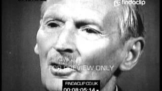 Bernard Levin Interviews Field Marshal Lord Bernard Law Montgomery aka \