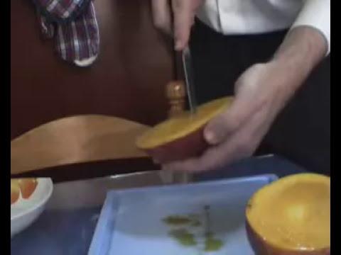 Cómo pelar un mango