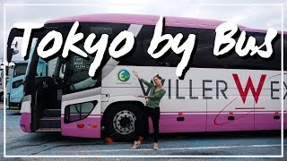 Osaka to Tokyo by Bus | Japan Travel Vlog
