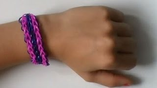Rainbow Loom, Triple Single, Nederlands