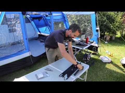 How to repair a broken tent pole