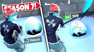 *NEW* DRAGON EGG *FOUND* ABOVE SNOW AFTER NEW POLAR PEAK LOCATION UPDATE! SEASON 7 UPDATE!: BR