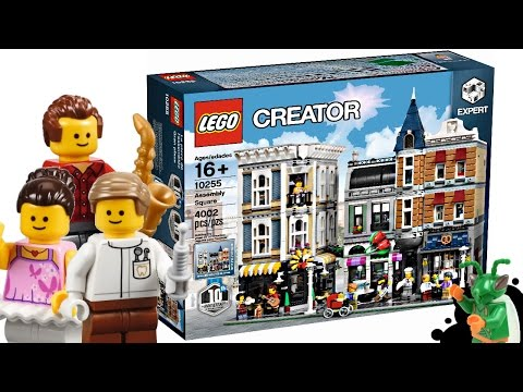 LEGO Modular Buildings 2017 Assembly Square - My Thoughts!