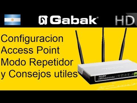Como configurar Access point en modo repetidor y otros modos utiles tp-link tl-wa701nd