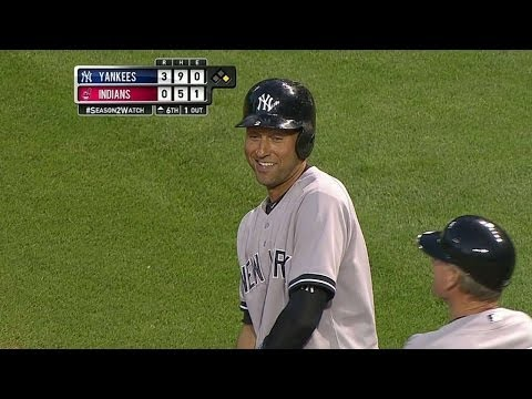 Jeter collects his 1,000th multi-hit game