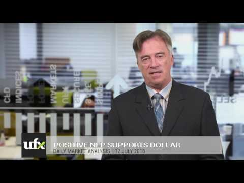 UFX Daily Forex Currency Trading News 12-July-2016