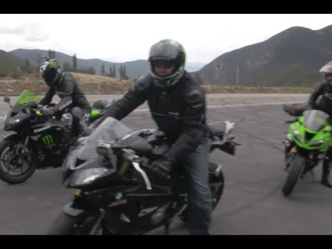 BMW S1000RR vs Aprilla RSV4 vs 2013 Kawasaki Ninja ZX6R 636 Comparison Review 600cc vs 1000cc VLOG