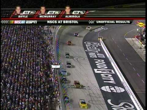 CARL EDWARDS KYLE BUSCH BRISTOL (2008)