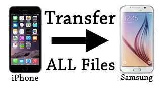 Smart Switch on Samsung Galaxy S6/7 / Note 4/5. Transfer ALL files fast!