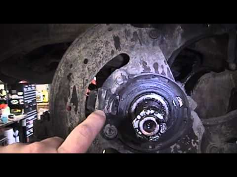 2003 Chevrolet S10 ABS Wheel Sensor Replacement