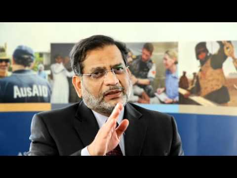 Lt General Nadeem Ahmed discusses the Pakistan Flood recovery