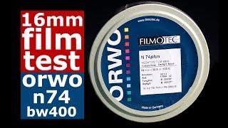 16mm Film Test - ORWO n74 bw / Canon Scoopic Camera