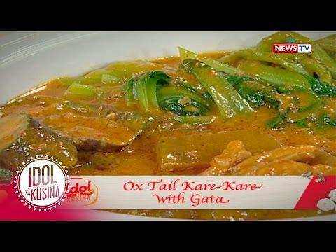 Idol sa Kusina: Ox Tail Kare-kare with Gata
